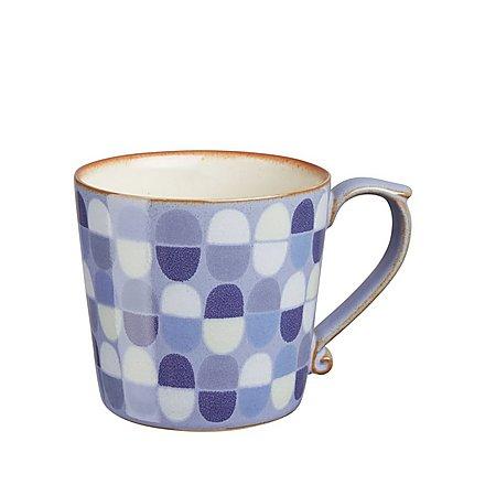 Krus blå mønster