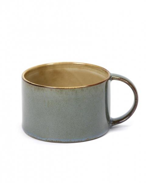 Kaffekopp smokey blue D8 H5,1