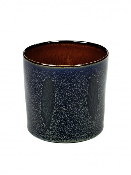 Kopp dark blue/rust D7,5 H7,5