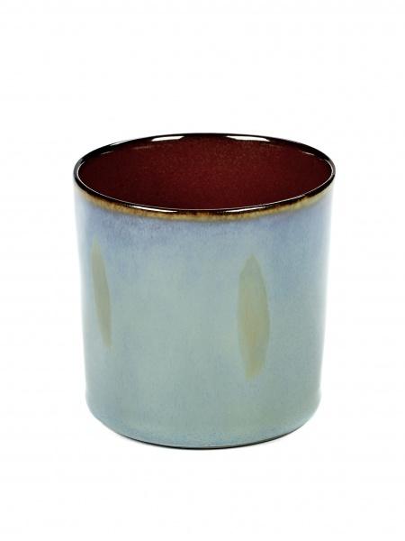 Kopp smokey blue/rust D7,5 H7,5