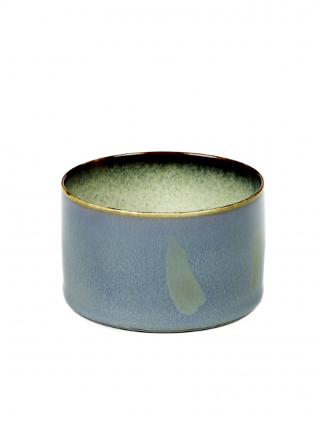 Skål smokey blue D7,5 H5