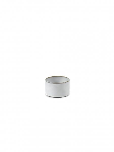 Skål lav hvit D7,5 H5