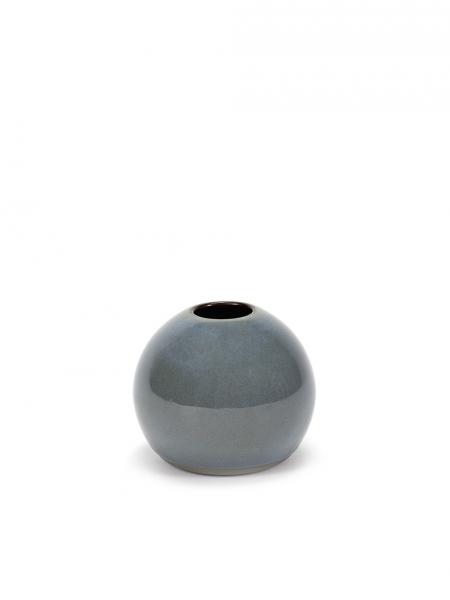 Ball vase XS smokey blue D5 H6