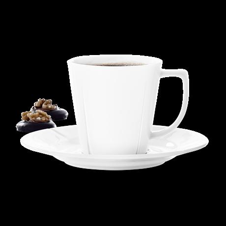Kaffekopp m/skål 4 pk 26cl