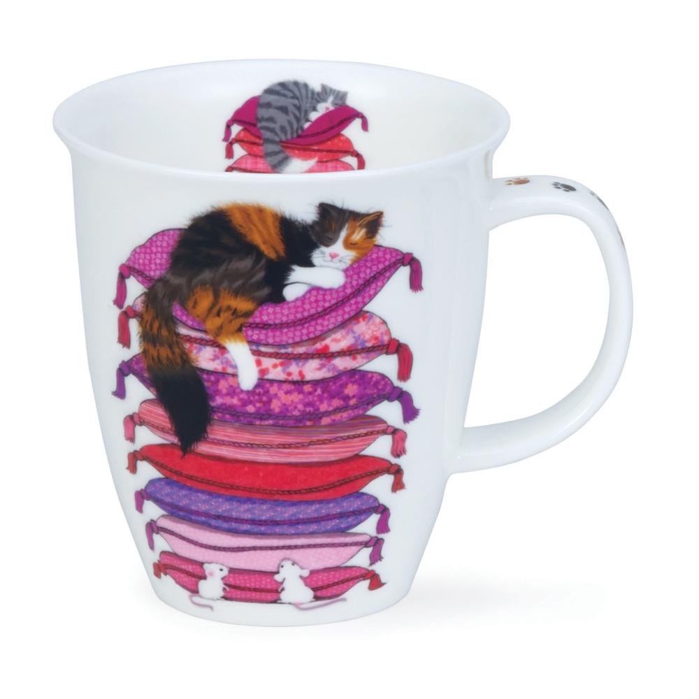 Nevis Sleepy Cats - pink