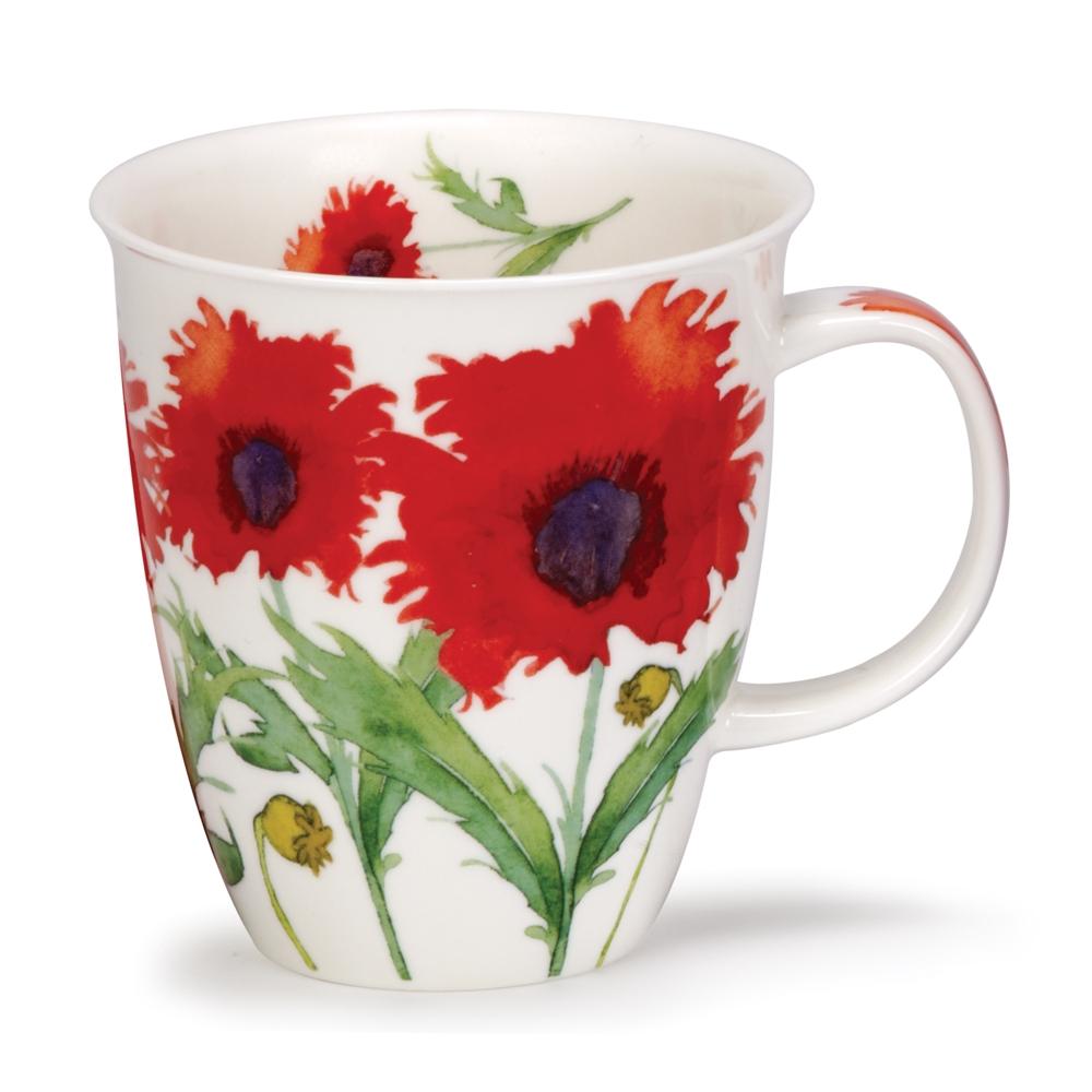 Nevis Floral poppy