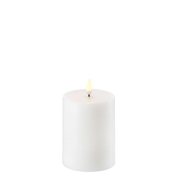 Kubbelys 7,8 x 10 cm Nordic white 1000t batteritid