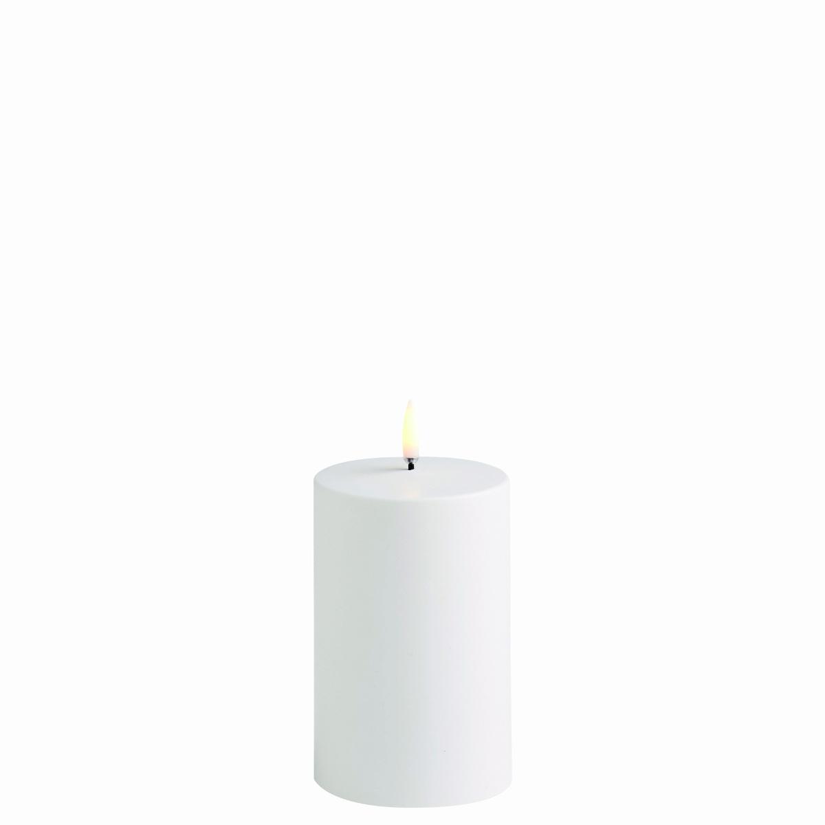 Kubbelys White 7.8x 12.7 cm Utelys