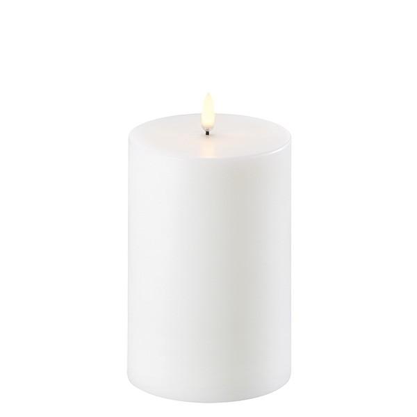 Kubbelys 10x15 cm Nordic White 1000t batteritid