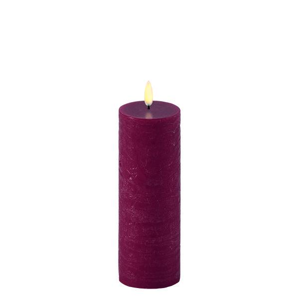 Kubbelys 6 x 15 cm Carmine red