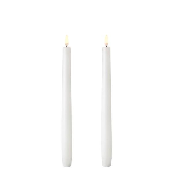 Kronelys Nordic white 28 cm
