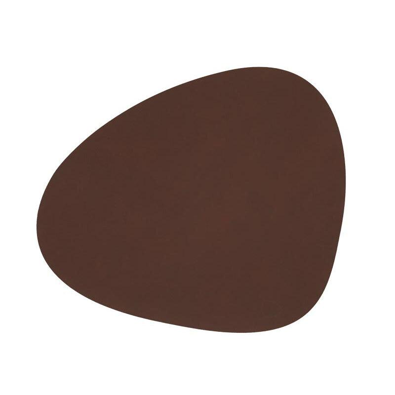 Lind DNA bordbrikke curve nupo dark brown