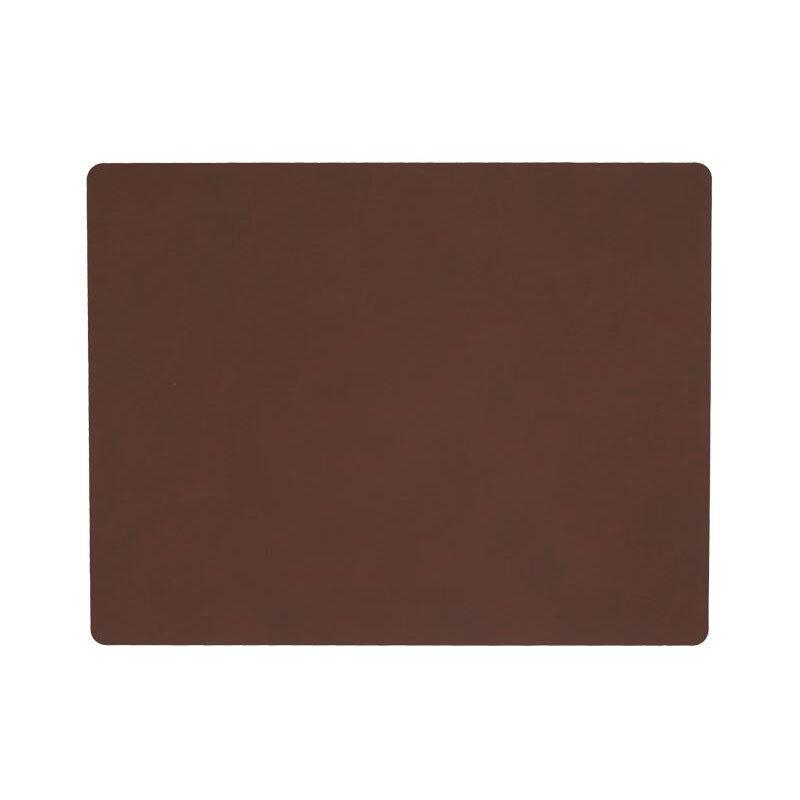 Lind DNA bordbrikke square nupo dark brown