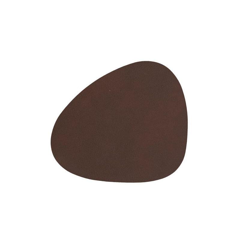 Lind DNA glassbrikke curve nupo dark brown
