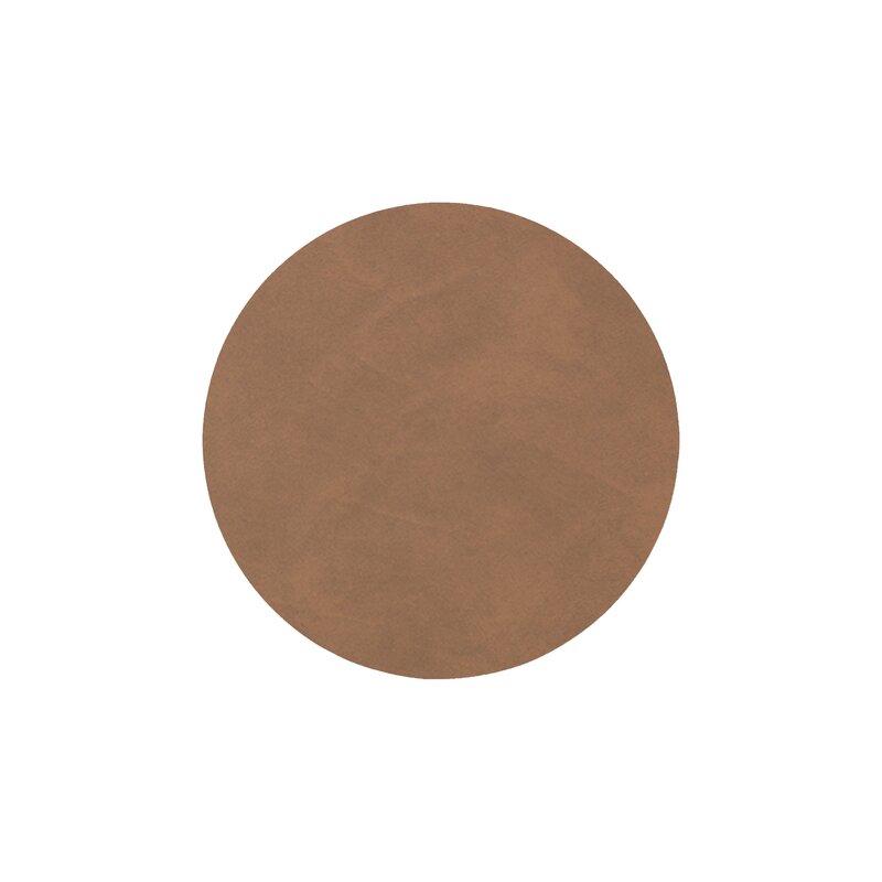 Lind DNA glassbrikke circle nupo brown