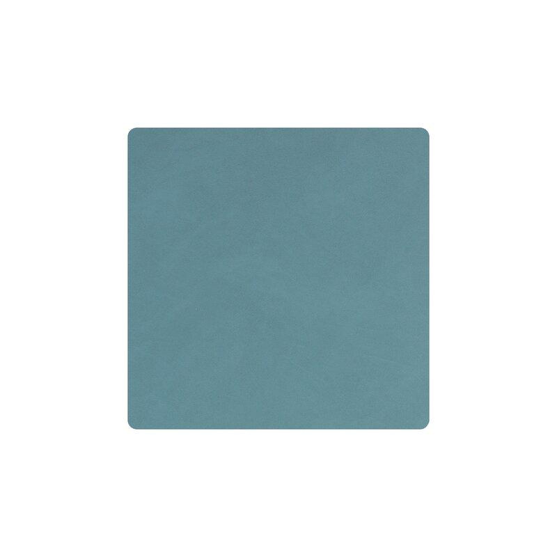 Glass mat Square light blue