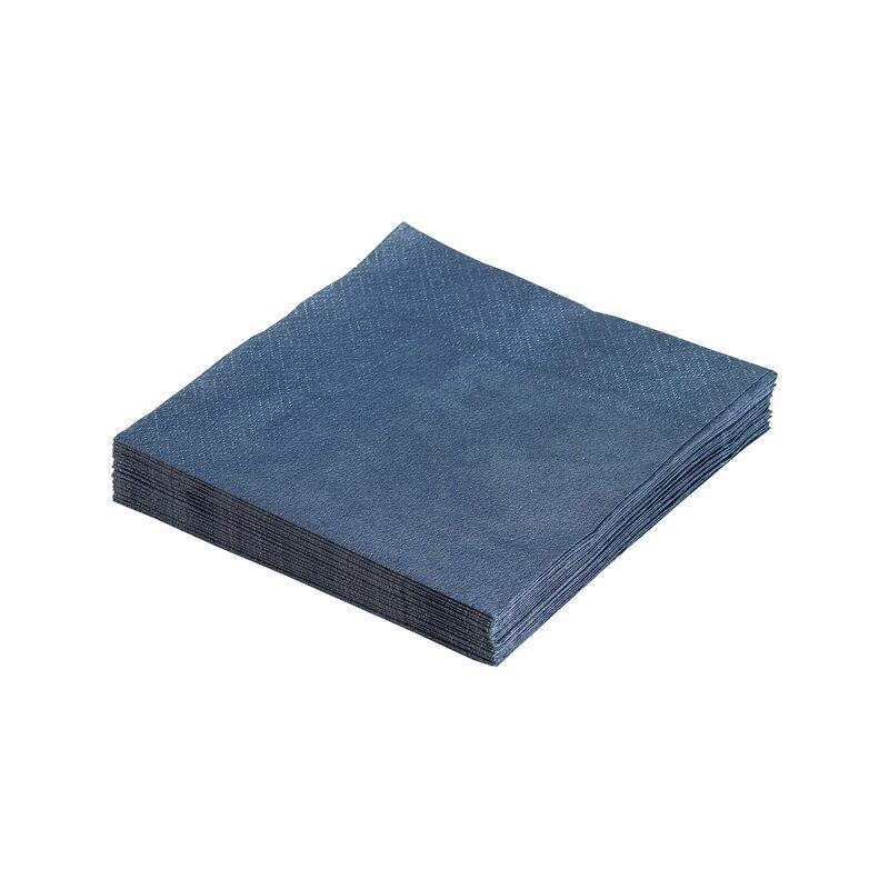 Servietter dark blue 33x33