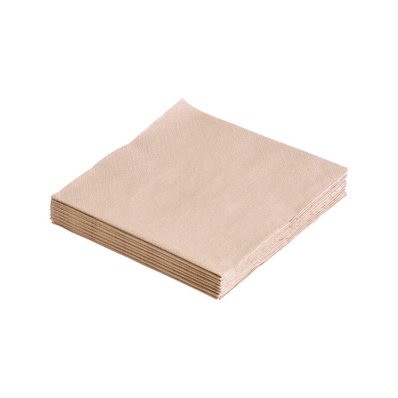 Servietter sand 33x33