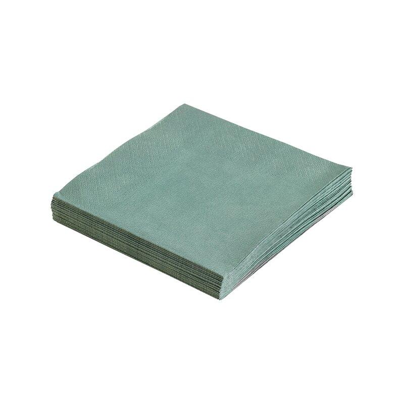 Servietter pastel green 33x33
