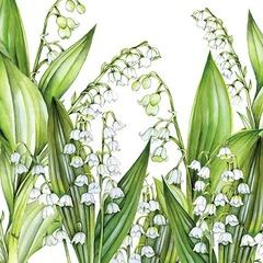 Kaffe servietter sweet lily 25x25