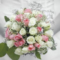 Lunsj servietter wedding bouquet 33x33