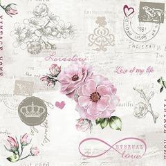 Lunsj servietter eternal love 33x33