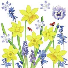 Lunsj servietter narcissus love 33x33