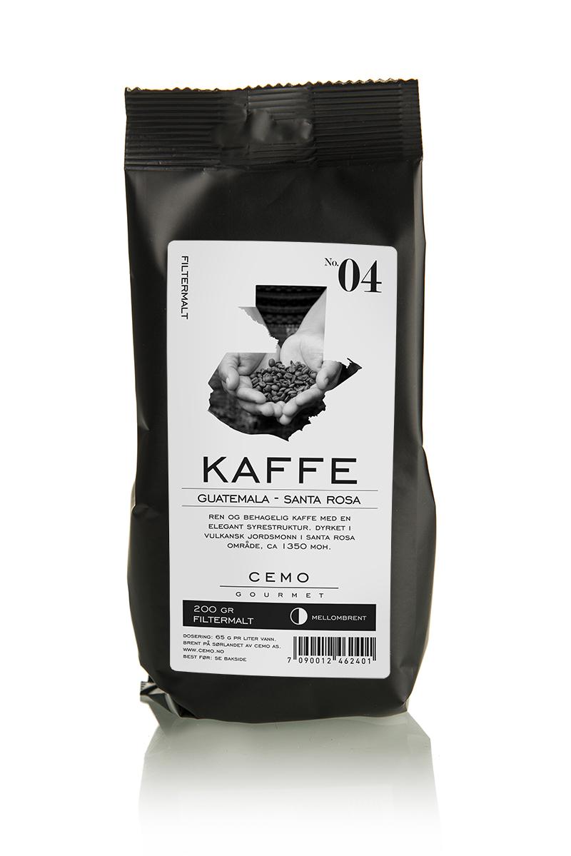 Kaffe filtermalt