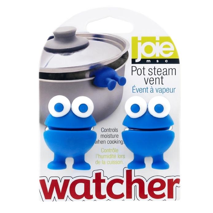 Pot watcher steam vents