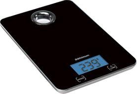 Vekt digital sort         5 kg