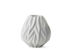 Vase Flame hvit 19cm