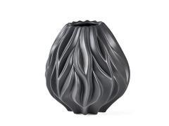 Vase Flame svart 23 cm fra Morsø
