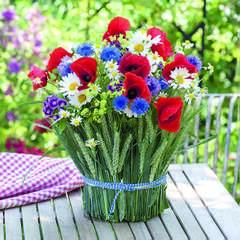 Lunsj servietter Summer bouquet