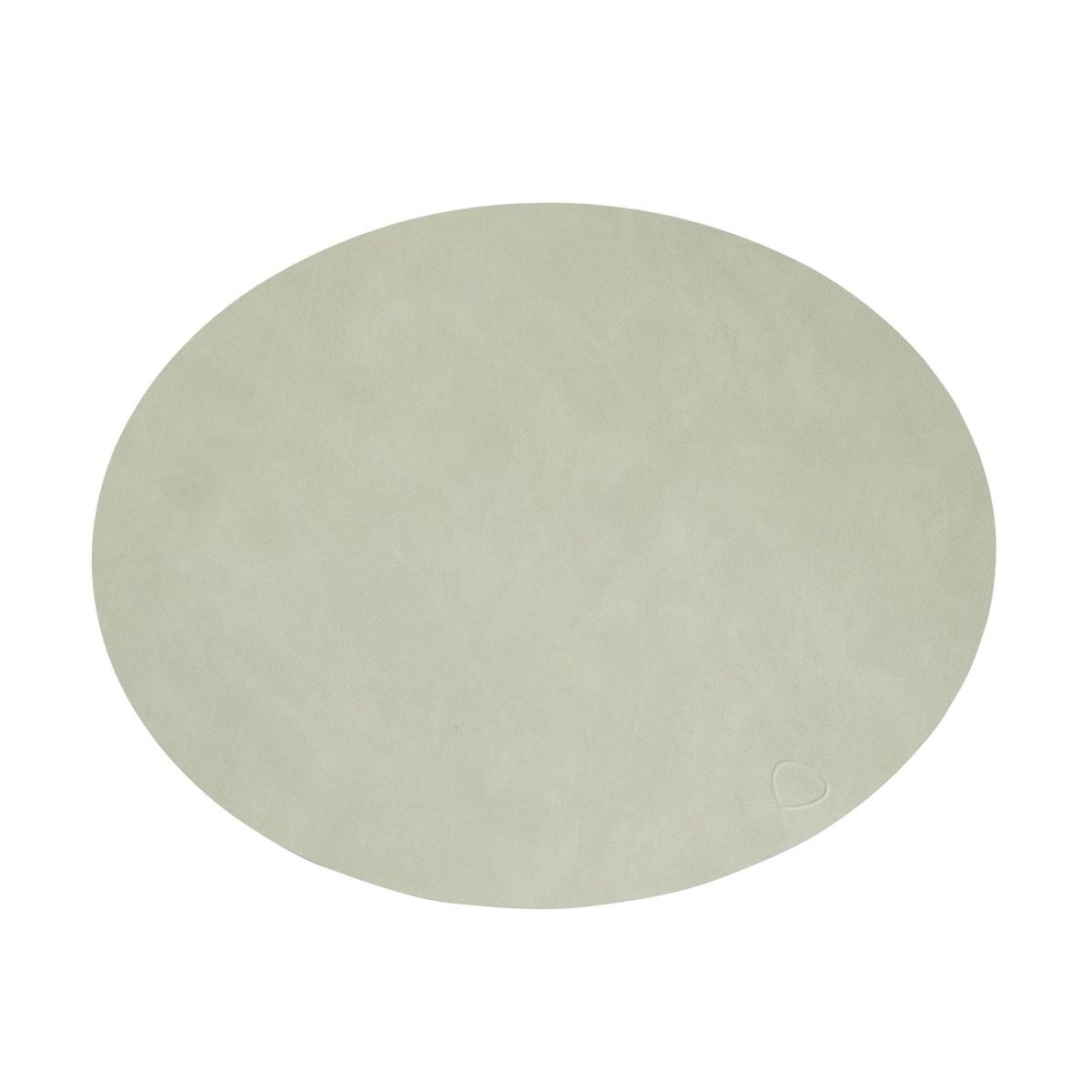 Lind DNA bordbrikke oval nupo olive green