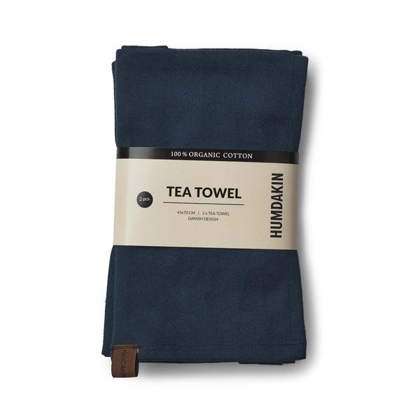 Tea towel blå
