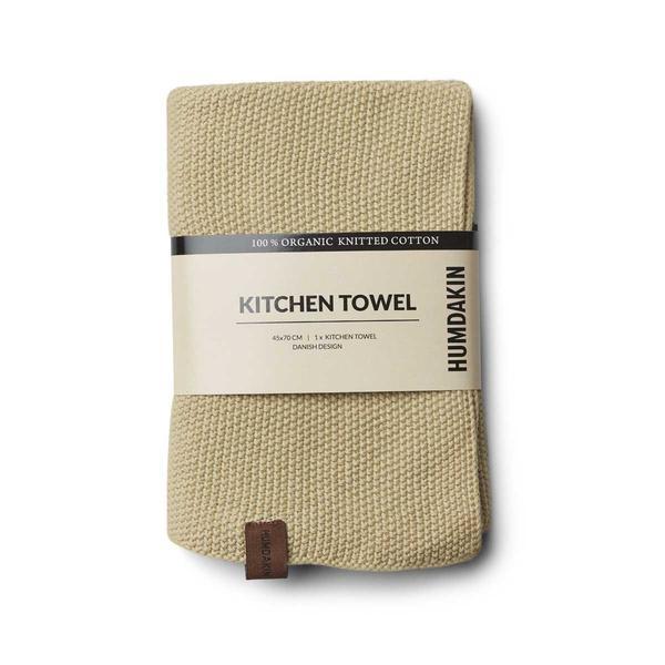 Knitted kitchen towel Khaki