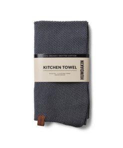 Kitchen towel dark ash