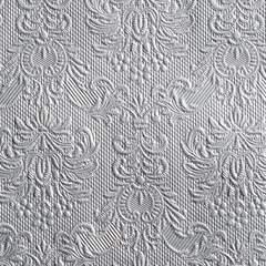 Servietter Elegance Silver 25x25