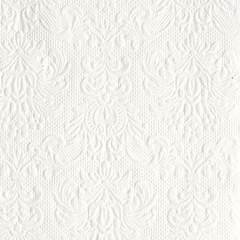Elegance kaffe servietter White 25x25