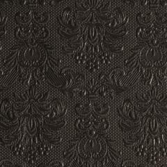 Kaffe servietter Elegance Black 25x25