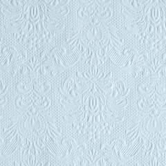 Kaffe servietter Elegance Light Blue 25x25