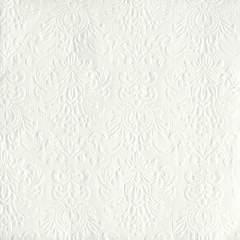 Lunsj servietter Elegance White 33x33