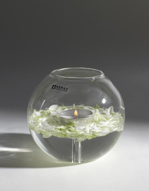 Ball glass For tealight
