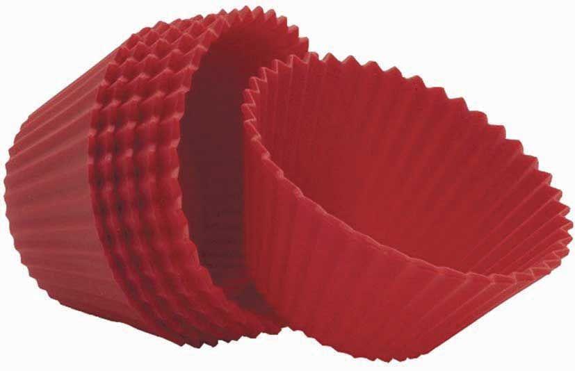 Muffinsformer silikon 6stk 9,5cm