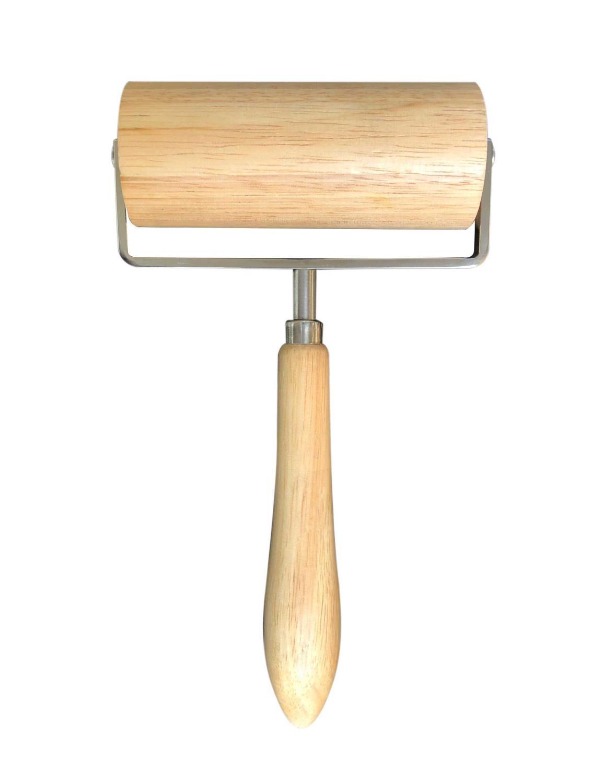 Bakerulle m/ håndtak Glatt 13 x 5,5cm
