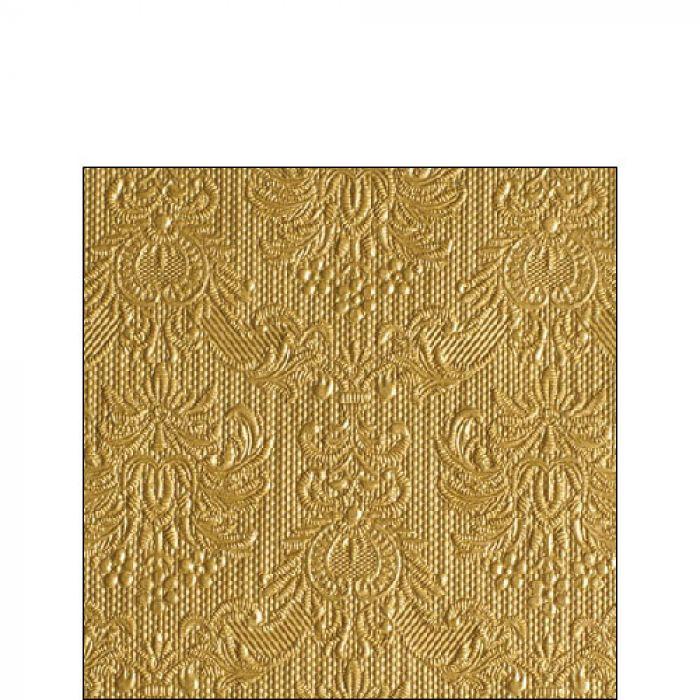 Kaffe servietter elegance gold