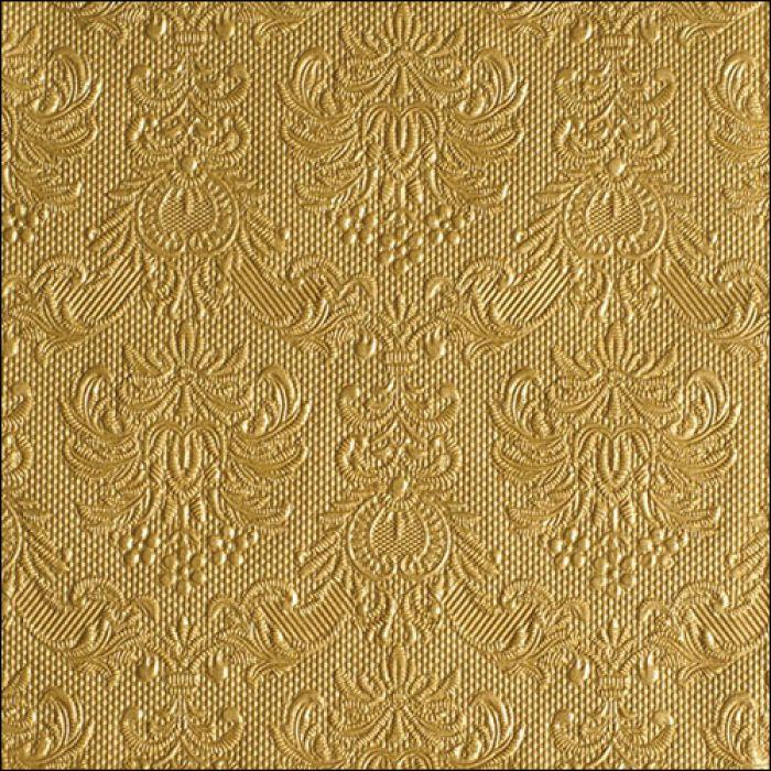 Lunsj servietter elegance gold