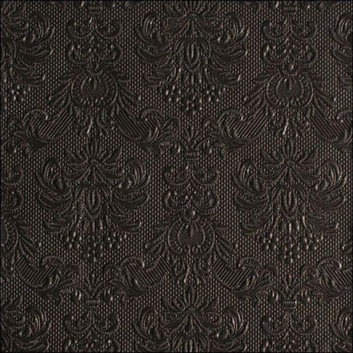 Lunsj servietter elegance black