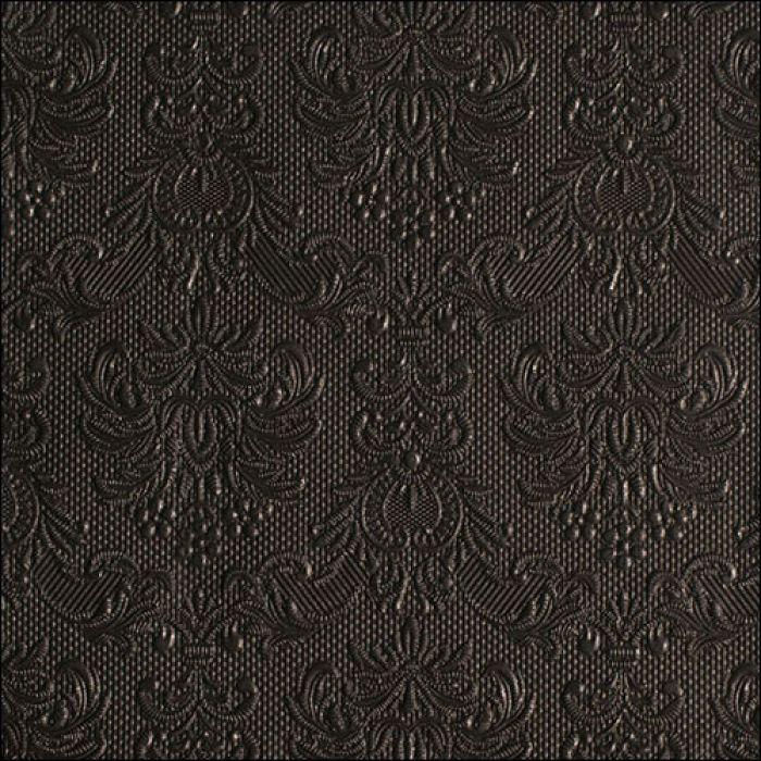 Middag servietter elegance black