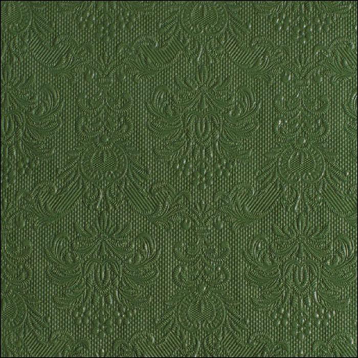 Middag servietter elegance dark green
